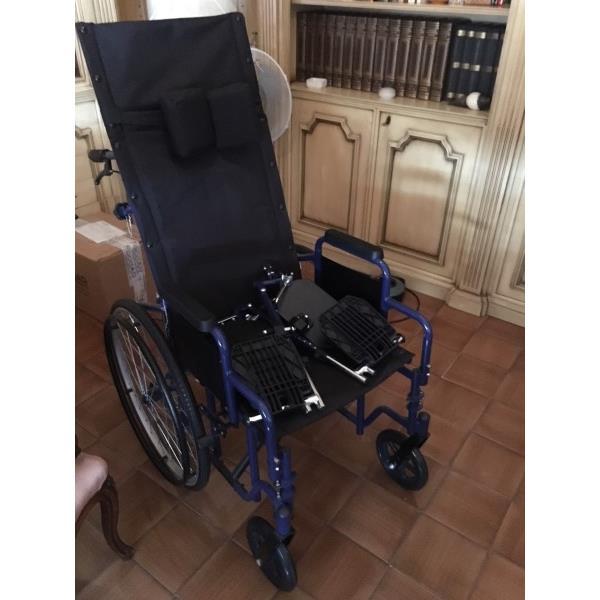 Sedia a rotelle schienale alto Vendo Carrozzine Roma ...